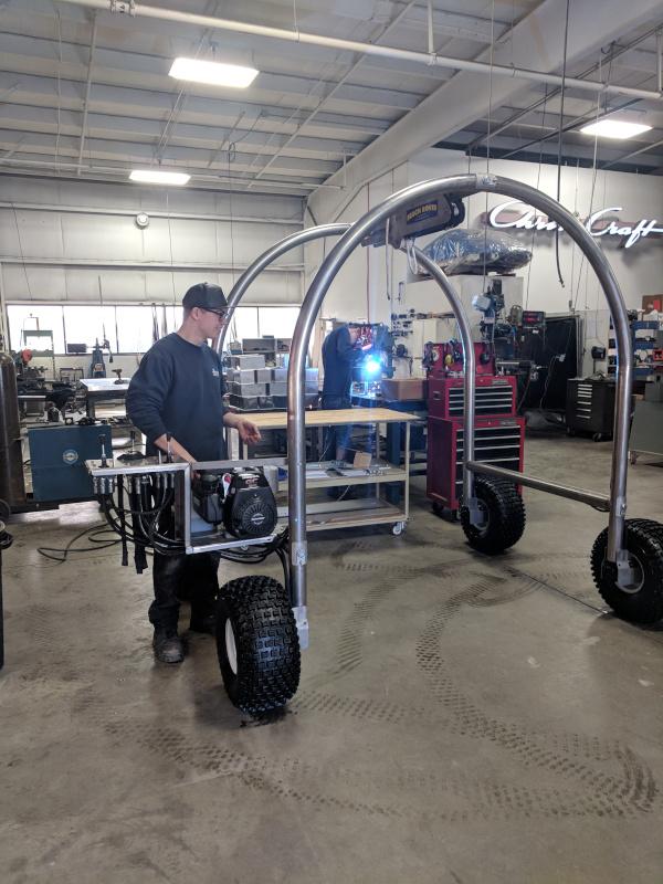 Hunter Testing Beach Rover